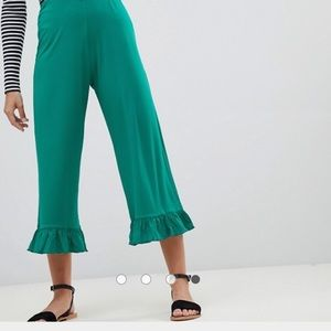 ASOS Petite Pants With Ruffle